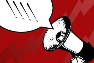 red-megaphone
